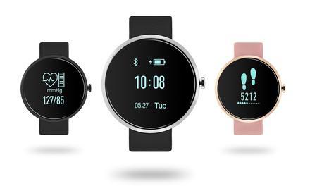 montre smartwatch crystal