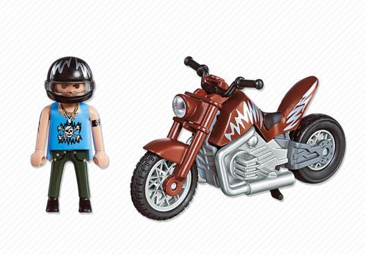 moto marron