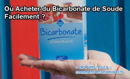 ou acheter du bicarbonate alimentaire