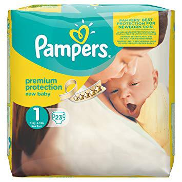 pampers new baby 1