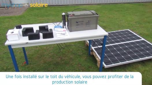 panneau solaire 200w camping car