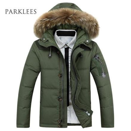 parka homme luxe