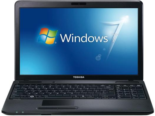 pc portable toshiba windows 7