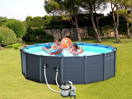 piscine hors sol intex acier