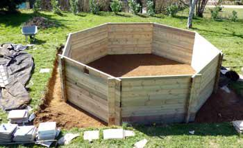 piscine hors sol montage