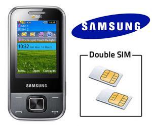 portable double sim samsung