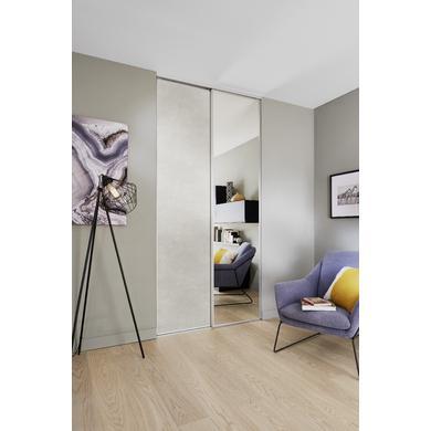 porte de placard coulissante miroir