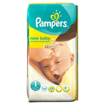 prix pampers new baby taille 1