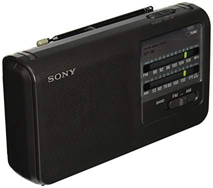 radio portable sony