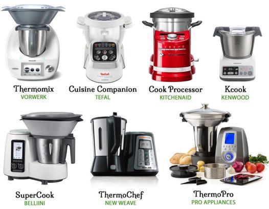 robot cuisine multifonction comparatif