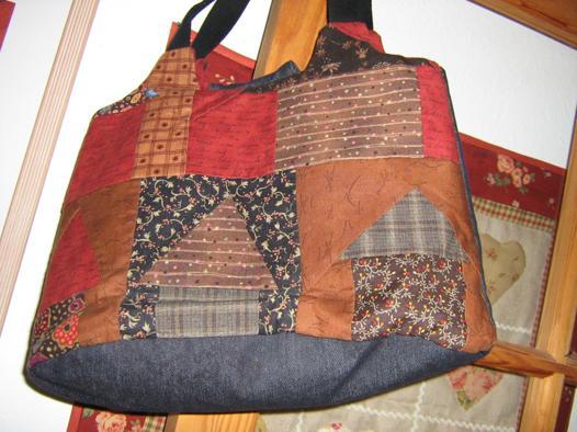 sac a main patchwork tissus