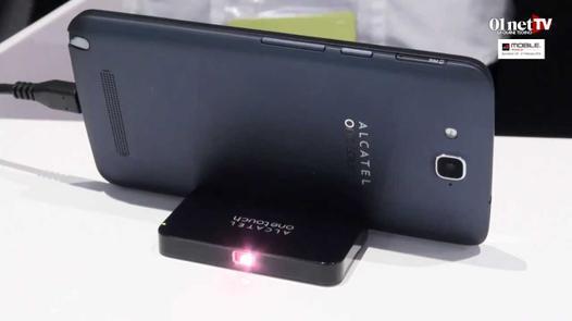 smartphone retroprojecteur