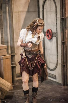 steampunk cosplay femme