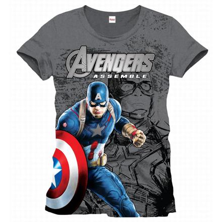t shirt homme marvel
