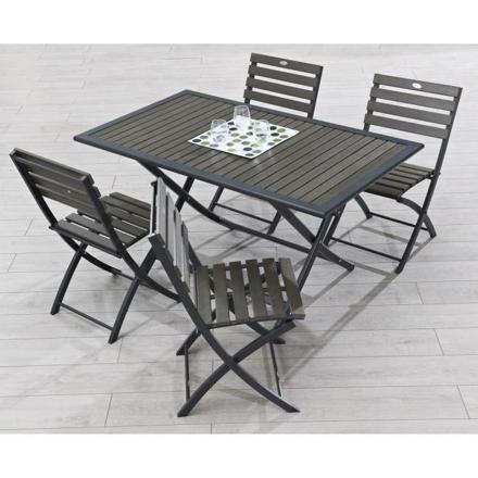 table de jardin pliable pas cher