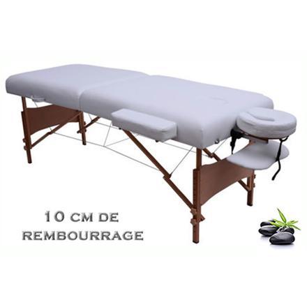 table de massage 10 cm epaisseur