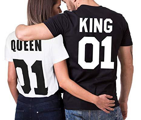 tee shirt king et queen