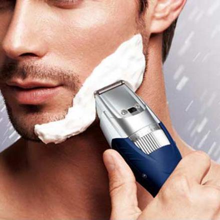 tondeuse barbe sous la douche