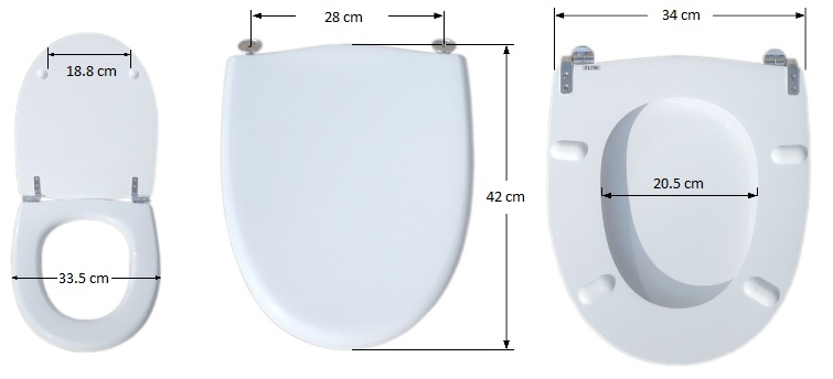 abattant wc petite taille
