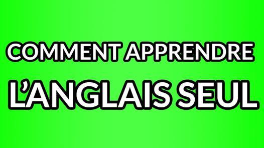 apprendre l anglais tout seul