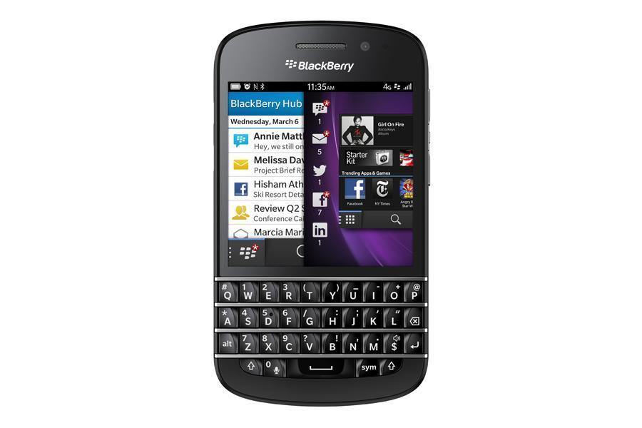 autonomie blackberry q10