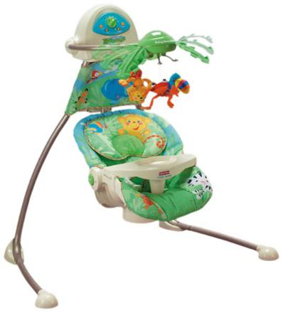 balancelle fisher price rainforest