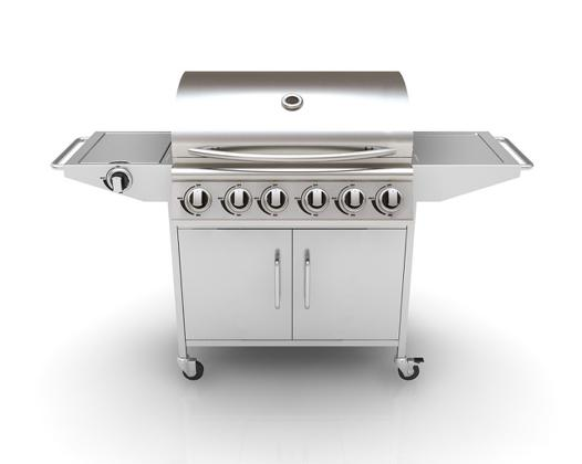 barbecue plancha gaz inox