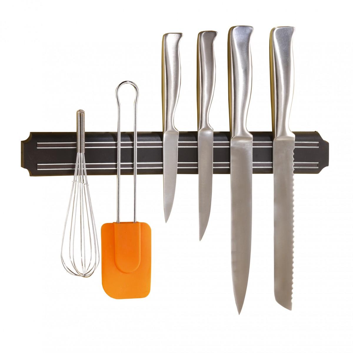 barre aimantee porte couteaux