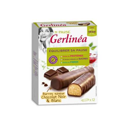 barre gerlinea chocolat blanc