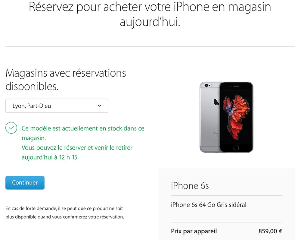 boutique apple en ligne
