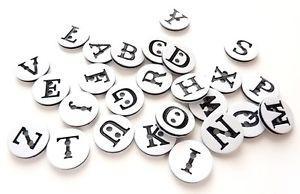 bouton lettre alphabet