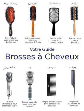 brosse cheveux frisés
