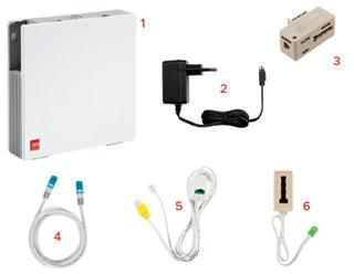 cable ethernet sfr box