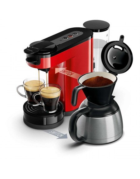 cafetiere switch senseo