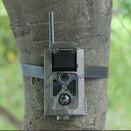 caméra de chasse avec vision de nuit