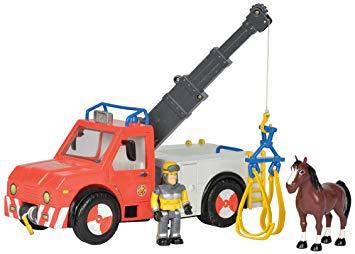 camion grue sam le pompier
