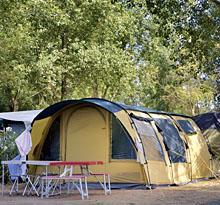 camping avec emplacement tente