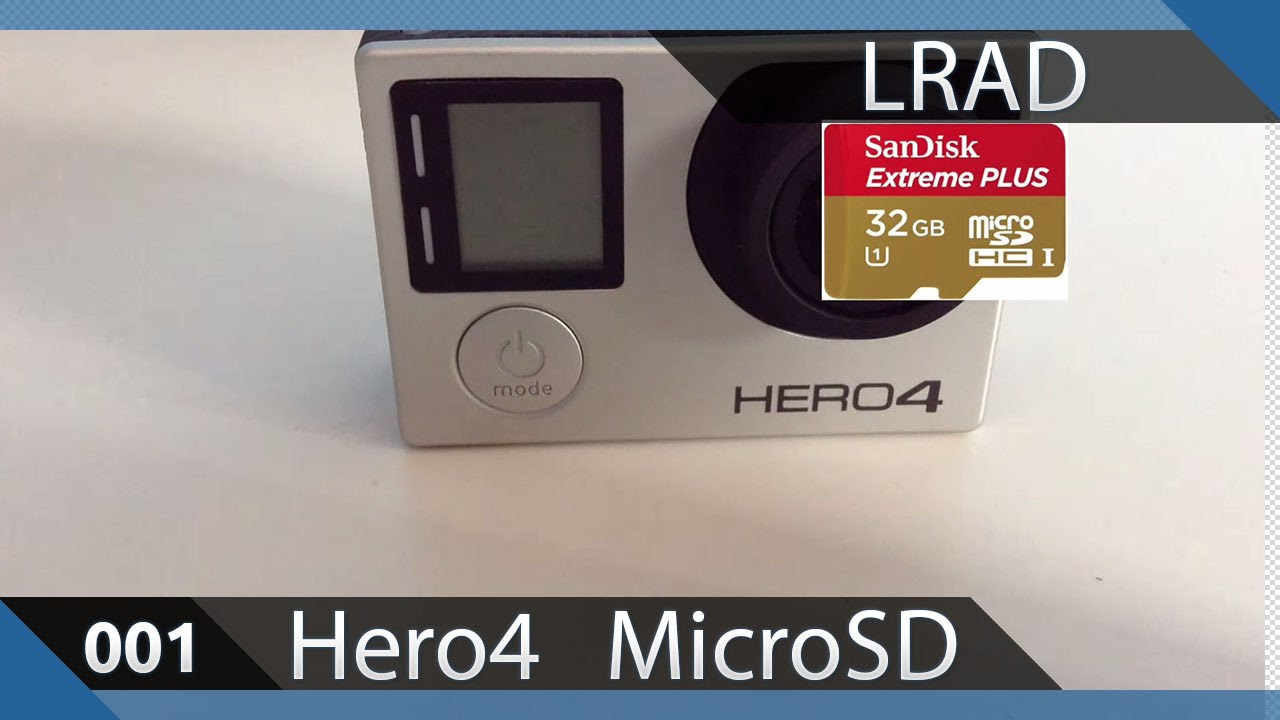 carte sd gopro hero 4