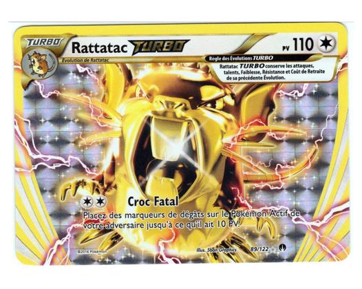 carte turbo pokemon