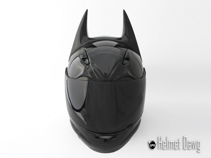 casque de moto batman