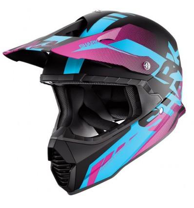 casque moto cross fille