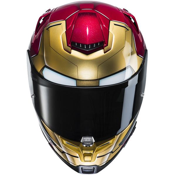 casque moto iron man