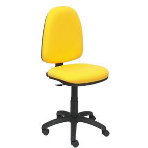 chaise bureau jaune