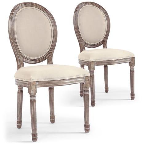 chaise medaillon pas cher