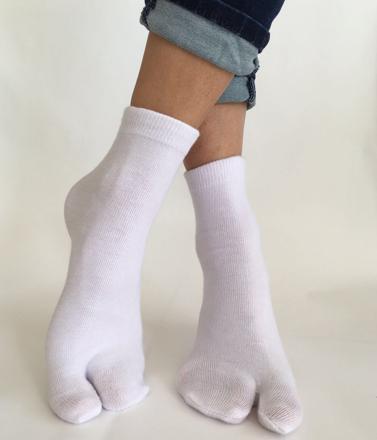 chaussettes pur coton femme