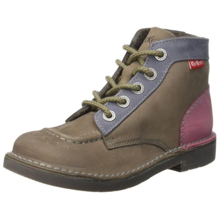chaussures kickers femme en soldes