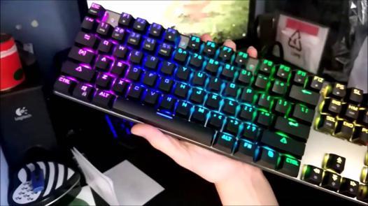 clavier rgb