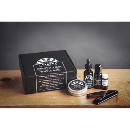 coffret soin barbe homme