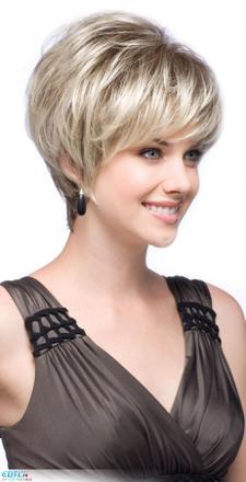 coiffure courte a la mode