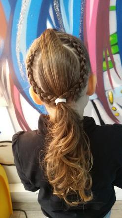 coiffure de petite fille pour ecole